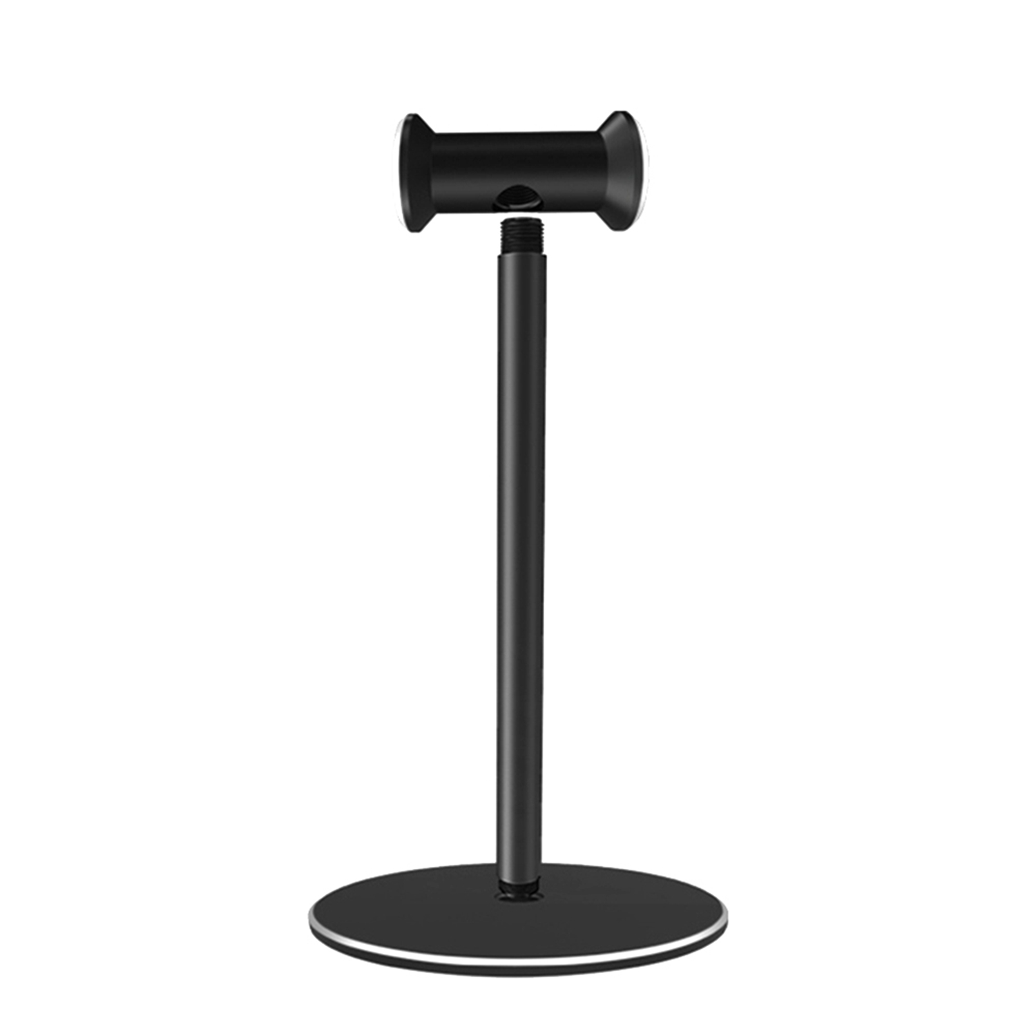 Detachable Metal Headphones Holder Aluminum Alloy Stand Stable Desktop Bracket With Silicone Pad For Gaming Headsets
