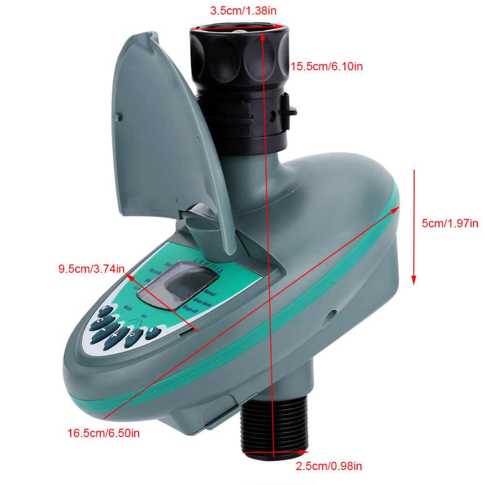 """Jardim Temporizador De Água automático Inteligente Display LCD Eletrônico G3/4 """"Controlador de Rega Sistema de Irrigação Temporizador Água Jardim Ferramentas"""