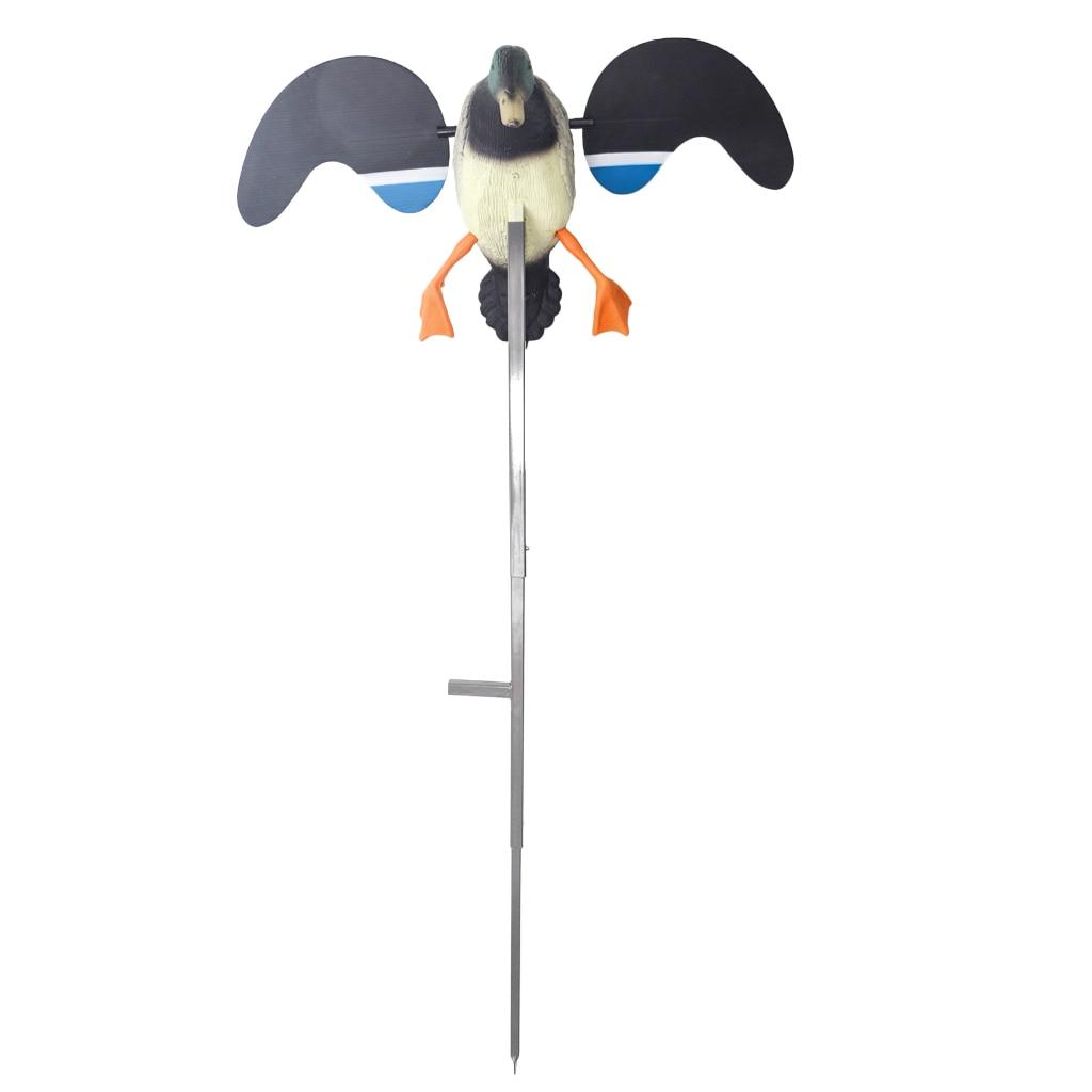 Haute qualité décor de jardin électrique canard volant leurre chasse canard leurre électrique canard volant leurres télécommande mâle/femelle