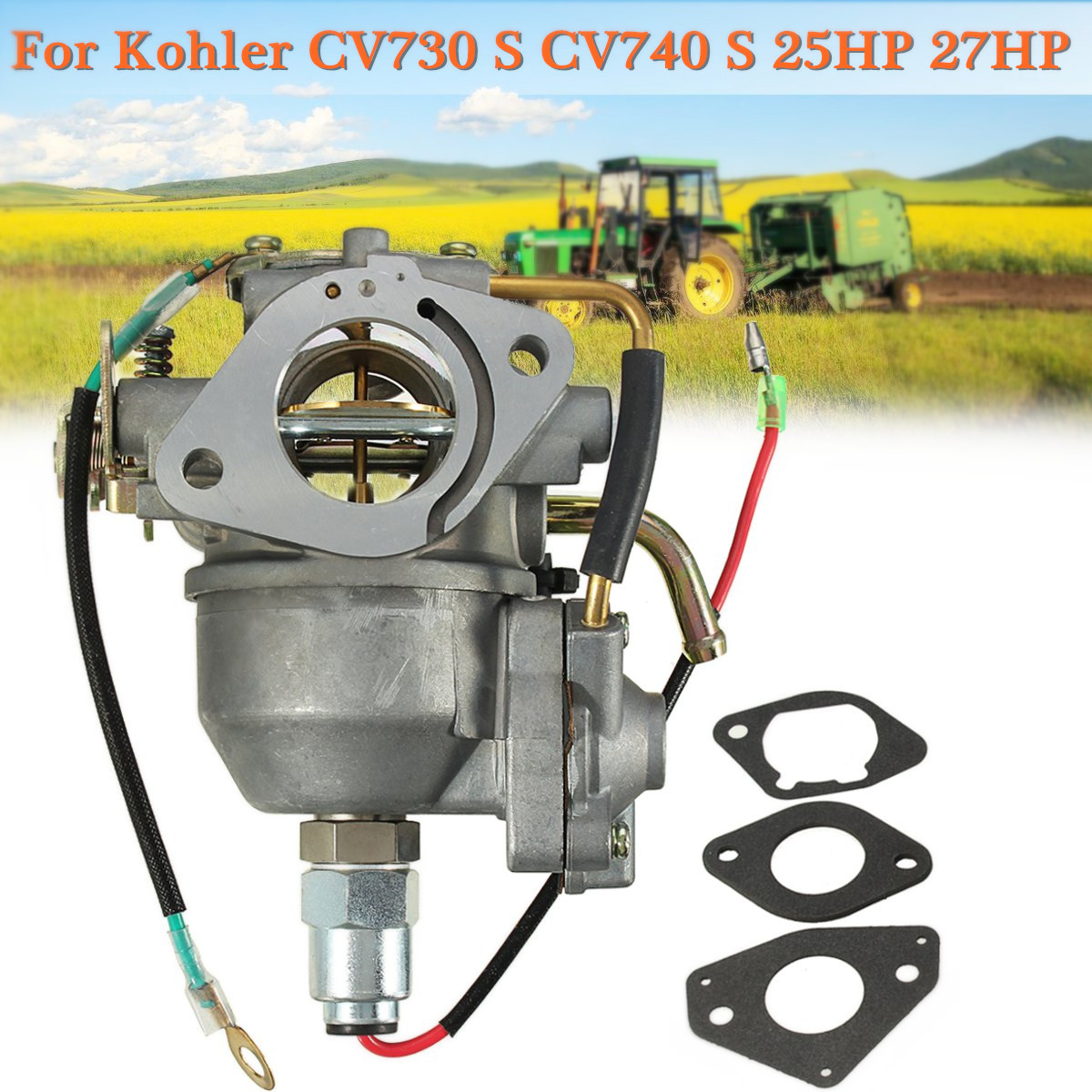 US $35 78 8% OFF|Carburetor for Kohler CV730 S CV740 S 25HP 27HP Engine  Tractor Carb 24853102 S-in Carburetor Parts from Automobiles & Motorcycles  on