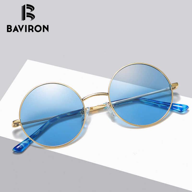 02a6f5425e Round Polarized Women Sunglasses Designer Metal UVA Polaroid Male Colorful  Sunglasses Women Sun Glasses Fashion Vintage