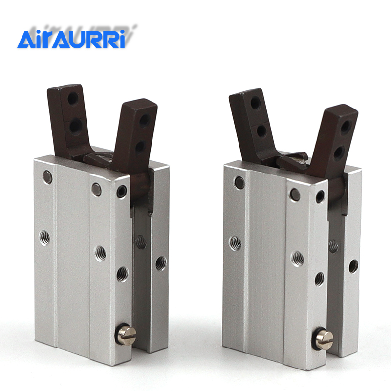 HFY 6 10 16 20 25 32 Air Finger Angle style Double acting cylinderHFY 6 10 16 20 25 32 Air Finger Angle style Double acting cylinder