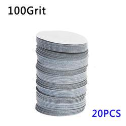 """20 шт. 75 мм 3 """"40 ~ 3000 Грит шлифовальные диски шлифовальные полировки колодки"""