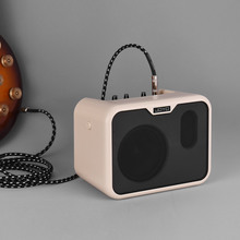 JOYO MA 10B  Mini Electric Bass Amplifier Portable Bass Amp Speaker 10Watt Amp Normal/Drive Dual Channels with Power Adapter