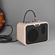 Joyo MA 10B Mini Elektrische Bas Versterker Draagbare Bass Amp Speaker 10Watt Amp Normaal/Drive Dual Kanalen Met Power adapter