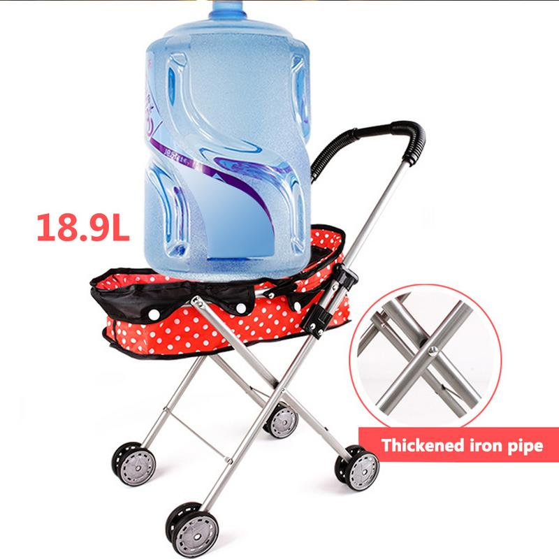 Reliable Doll Stroller Baby Stroller Trolley Nursery Furniture Toys Doll Trolley Toy Simulated Stroller For Indoor Outdoor Use Activity & Gear Four Wheels Stroller