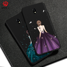 ASINA Silicone Case For Samsung Galaxy J7 2017 Luxury Original Design Cover S7 S8 S9 Plus A5 A8 J8 2018 Note 8 9
