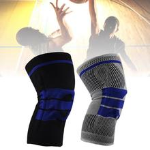 Anti-collision Spring Knee Protector Sleeves Pads Comfortable Design Brace For Basketball Hiking Running Fitness