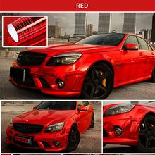 2018 152*60cm Car Plating Mirror Film Body Color Bright Mask Vinyl Packaging Sticker Modification
