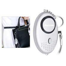 Self Defense 140 Db Security Self-defense Alarm Girl Women Personal Security Protect Emergency Alert Scream Loud Alarm Keychain