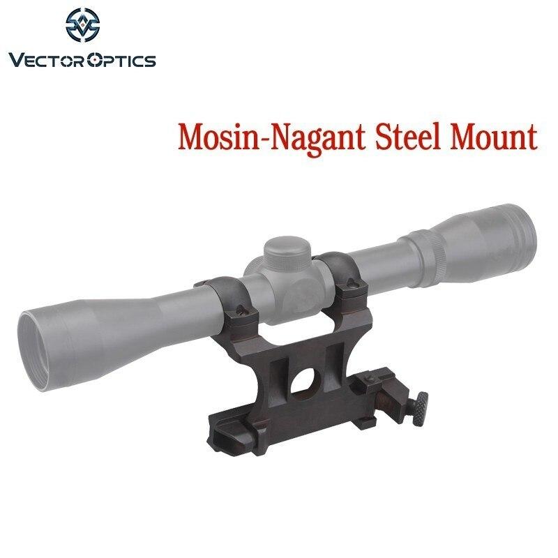 Monture latérale en acier mosin-nagant 25.4mm pour lunette de visée de 1 pouce