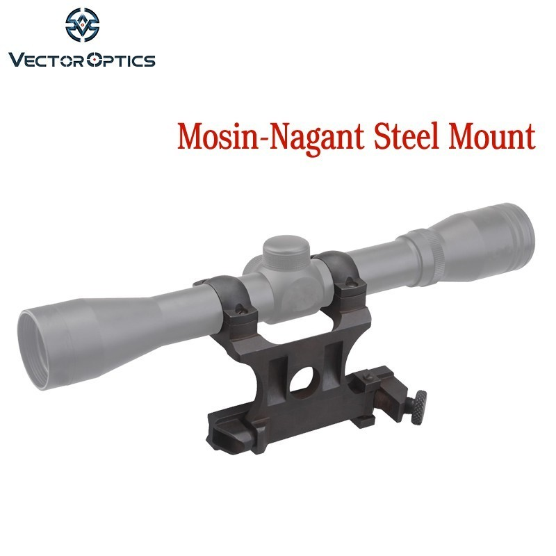 Vector Optics 25.4 Mm Mosin-Nagant Steel Side Mount For 1 Inch Riflescope