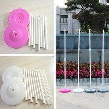 Venda quente 150cm 120cm 90cm base da coluna do balão/vara/plástico pólos balão arco casamento evento festa suprimentos decorações do jardim