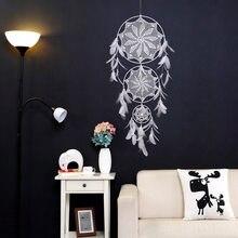 Decoração pegadora de sonhos grandes, decoração nórdica para casa, crianças, decoração de casa, vento, chamados, coletores de sonhos, pendurar