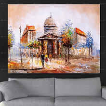 No Frame Wall Art Picture Abstract Painting Scenery Posters Print Castle Landscape on Canvas artwork for Living Room 41xdzs 151 159 160 162 4pcs chinese abstract scenery print art