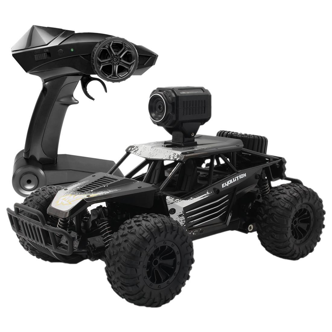 Rowsfire 1:16 2.4G 25km/H High-Speed RC Off-Road Vehicle Drift Car Monster Truck Climbing With WIFI 720P HD Camera