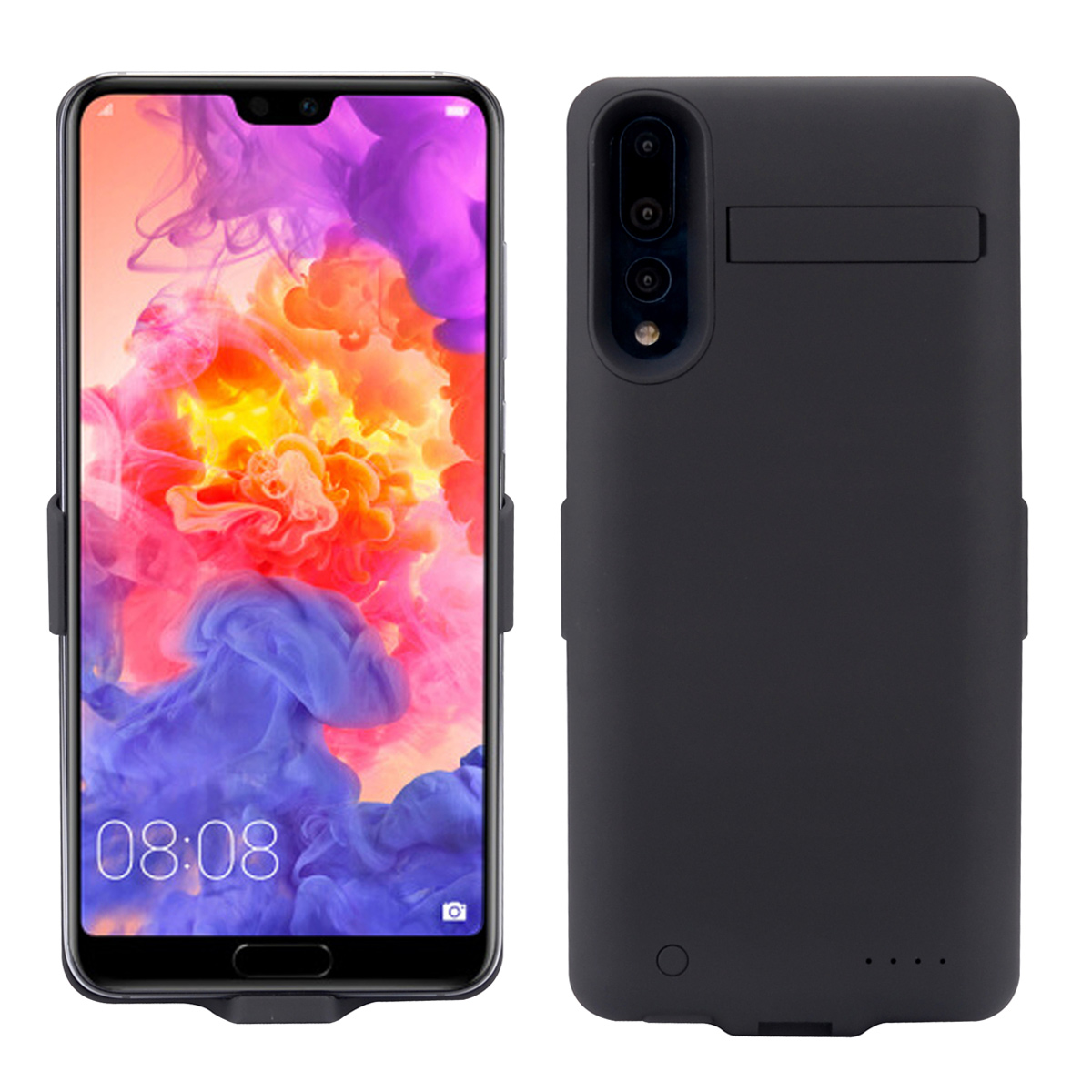 CASEWIN Battery Charger Case For <font><b>Xiaomi</b></font> Mi 8 <font><b>6000mAh</b></font> <font><b>Power</b></font> <font><b>Bank</b></font> Charging Case External Backup Charger <font><b>Power</b></font> <font><b>bank</b></font> phone case image