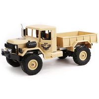 JJRC Q62 1/16 2.4G 4WD Off Road Military Truck Crawler RC Car Toy Kids Toys Christmas Gift