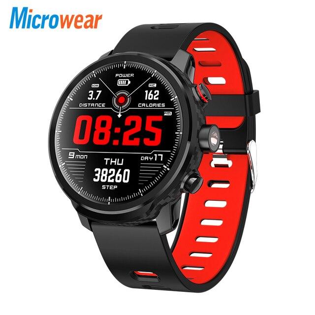 L5 Smart Orologio Da Polso Impermeabile Uomini di Smart Orologio Bluetooth Android Wristband Chiamata di Promemoria Frequenza Cardiaca Pedometro Nuoto Ip68