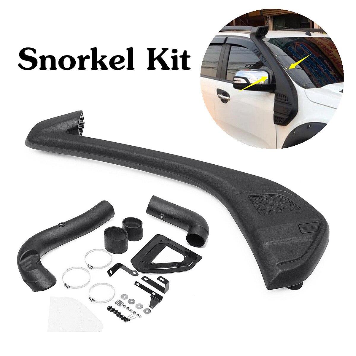 Snorkel de Entrada de ar Aumentar A Gasolina Diesel-Set Kit Para 2013 Ford-Ranger Wildtrak 110x30 T6 cm Preto Resistente AOS RAIOS UV de Polietileno Linear