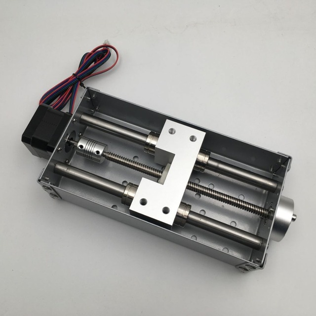 CNC Mesa De Trabalho Deslizamento Do Eixo Z 120 Milímetros Brand New Para  Cnc Máquina de Gravura máquina kit Acidente Vascular Cerebral do eixo