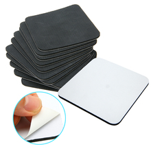 10Pcs 95x95mm Rubber Sublimation Coaster Blank Coaster Board Sublimation MDF Printing For Heat Press Machine цены онлайн