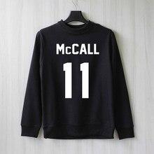 cee9d313e1 Scott McCall 11 Impresso Lobo Adolescente Camisola Mulheres Manga Longa  Ponte Pullover Camisa Causal Harajuku Topos