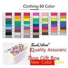 Touch Three 60 Color Alcohol Oiliness Art markers Set Pen For Animation Manga(China) Quality Goods dfa200aa80 dfa150aa80 japan s three clubs module quality goods from stock
