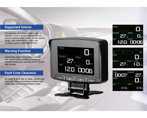 Image 5 - OBD2 HUD Head Up Display Digital Car Computer Car Digital Display Speed Meter Electronic Monitor Diagnosis Tool