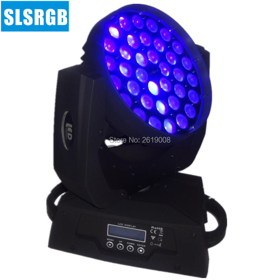 RGBWA + UV 6in1 36x18 w faisceau zoom LED lavage de tête mobile dmx lavage de tête mobile 36x18 w rgbwa uv 6in1 zoom LED lumière de tête mobile