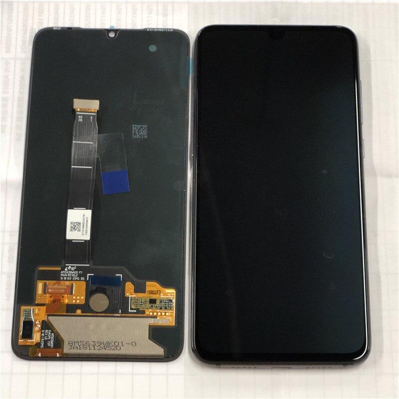"Original Axisinternational AMOLED LCD Frame For 6.39"" Xiaomi MI9 Mi9 MI 9 LCD Display Screen+Touch Panel Digitizer With Frame"