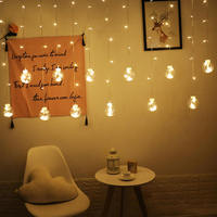 Led Ball Decoration Lamp Outdoor String Lamp Bedroom Curtain Lamp Hanging Lamp Christmas Party Home Decorations