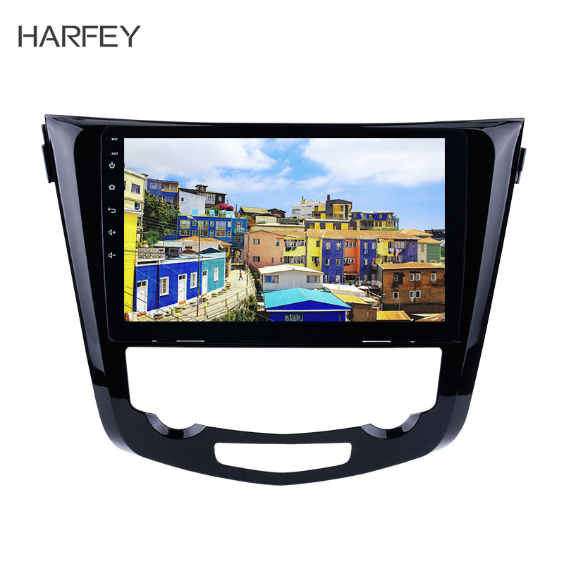 Harfey 10.1inch Android 8.1  for 2014 Nissan QashQai X Trail Radio Bluetooth car multimedia player GPS System 3G WiFi TV Mirror-in Car Multimedia Player from Automobiles & Motorcycles    1