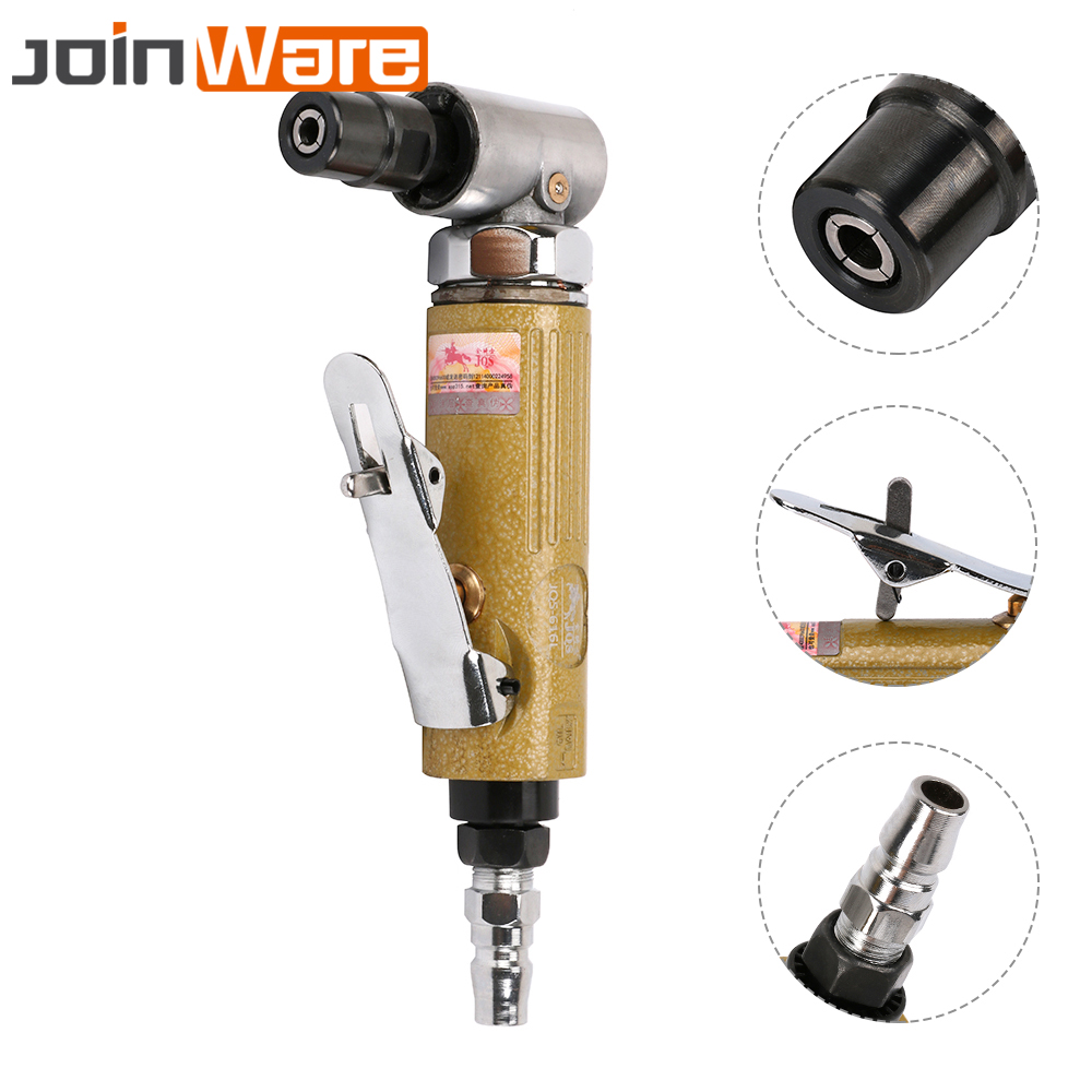 Pneumatic Angle Die Grinder 90 Degree Air Die Grinder Tool For Woodworking Car Mold Grinding Polishing Power Tool Air GrinderPneumatic Angle Die Grinder 90 Degree Air Die Grinder Tool For Woodworking Car Mold Grinding Polishing Power Tool Air Grinder