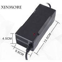 XINMORE Auto Stop 42V 2A Lithium Battery Charger For 36V 2A Li Ion Lipo Battery Pack Cooling with Fan Inside