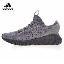 Adidas Tubular Doom Sock Primeknit Mens Running Shoes Shock-absorbing Lightweight Wear-resistant Breathable Sneakers BY3564
