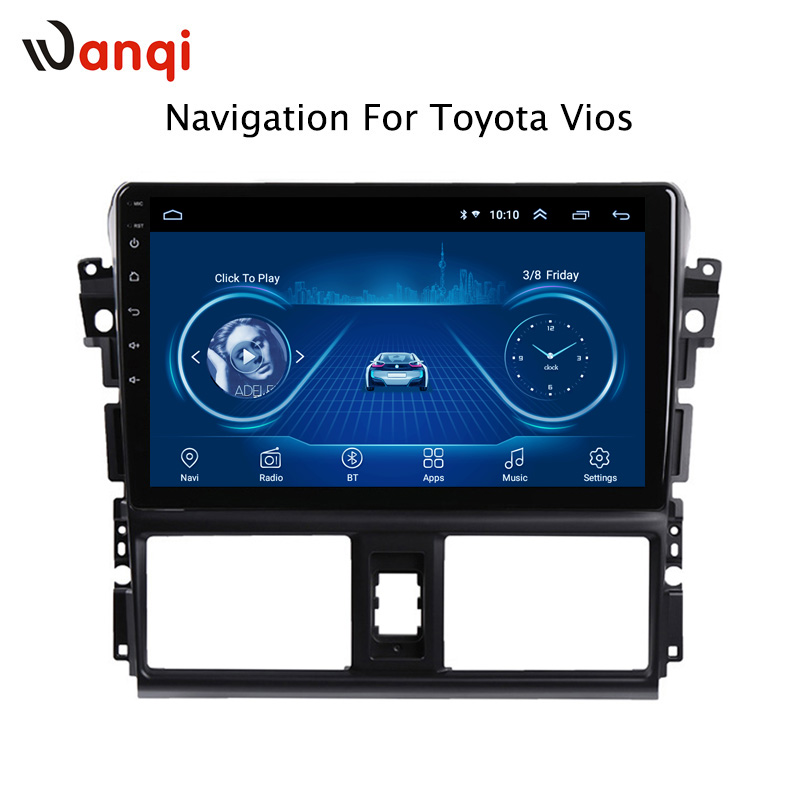 10.1 inch Android 8.1 Car DVD GPS for Toyota vios 2014-2016 Navigation System Stereo Audio Radio Video Bluetooth10.1 inch Android 8.1 Car DVD GPS for Toyota vios 2014-2016 Navigation System Stereo Audio Radio Video Bluetooth