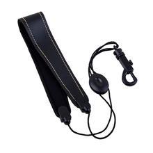 SLADE Регулируемый саксофон ремень для саксофона Высокое качество кожа нейлон мягкий шейный ремень с застежкой-крючком