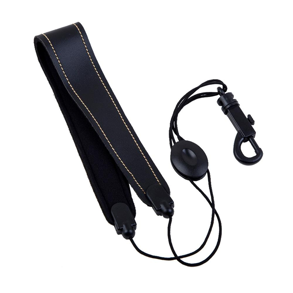 SLADE Adjustable Saxophone Sax Belt High Quality Leather Nylon Padded Neck Strap With Hook Clasp
