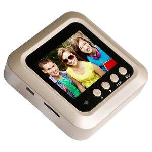 Image 2 - 2.4Inch Lcd Home door bell Color Screen 160 Degrees Ir Night Door Peephole Camera Photo/Video Recording Digital Door Camera