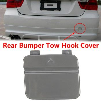 51127202673 Rear Bumper Tow Hook Cover Cap For BMW 3-Series E90 E91 328i 335d 335i 316i 318i image