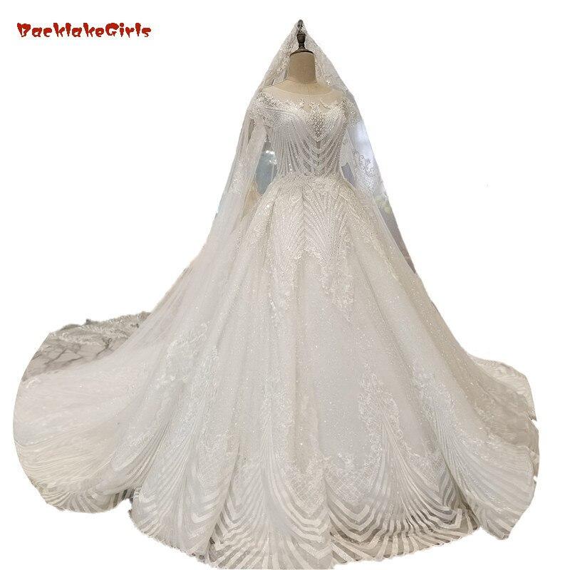 Royal Wedding Ball Gown: BacklakeGirls 2018 Ivory Lace Sleeveless Wedding Dress