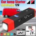 Многофункциональный 99800mAh 12V 2USB 500A стартер для автомобиля Аварийный пуск питания для автомобиля мобильная зарядка зарядное устройство пуск...