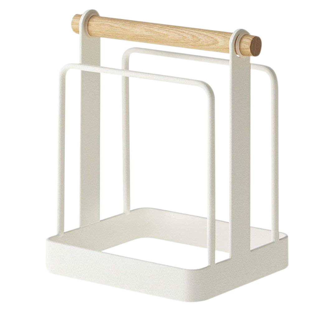 cutting board chopping board storage rack rags organizer over the cabinet door organizer holder. Black Bedroom Furniture Sets. Home Design Ideas