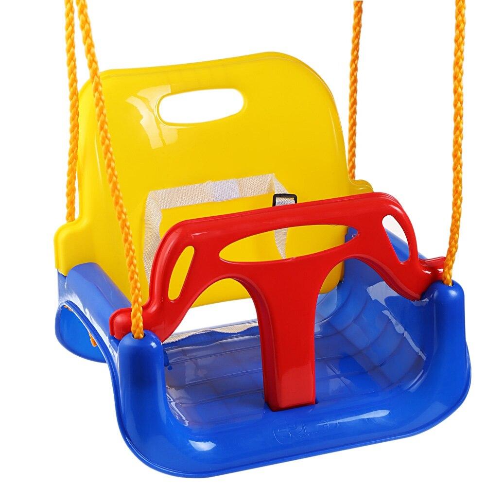 3 en 1 multifonctionnel bébé balançoire suspendu panier extérieur enfants jouet