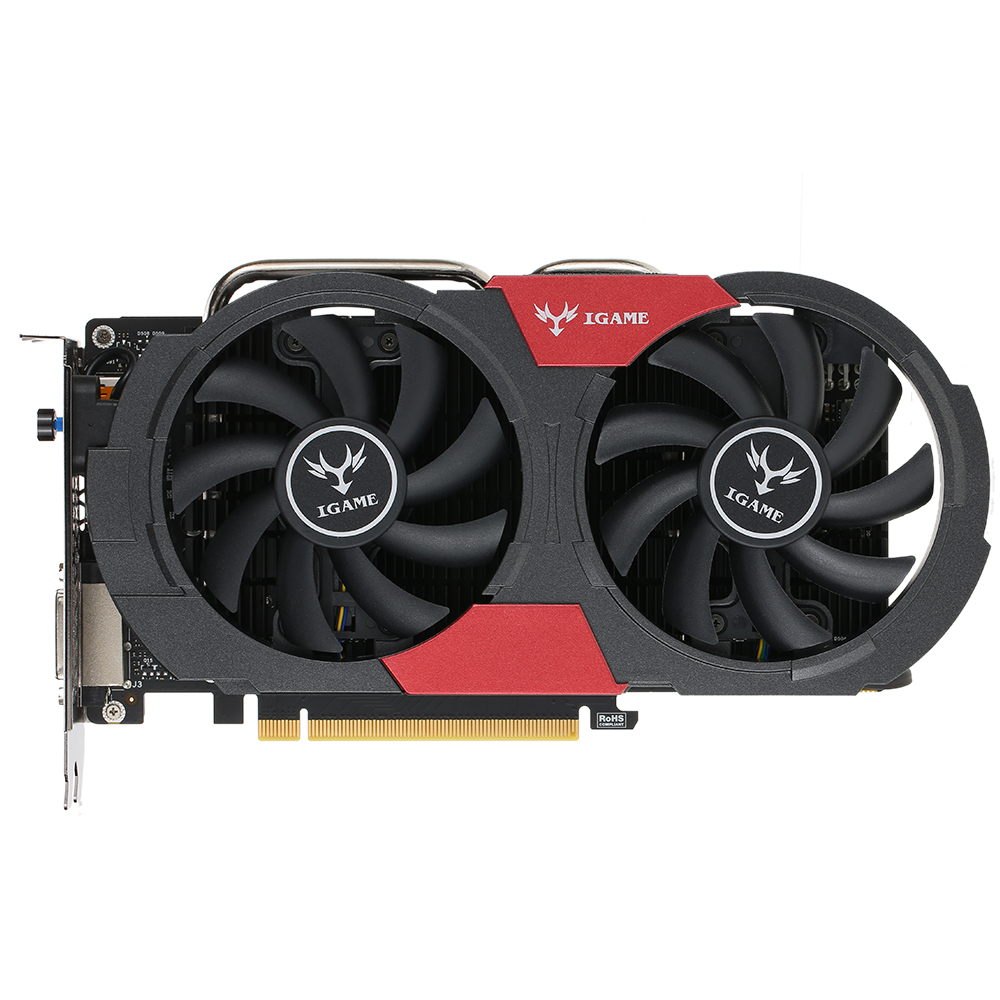 Colorful GeForce GTX iGame 1050Ti GPU 4GB 128bit Gaming 4096M GDDR5 PCI E X16 3.0 Video Graphics Card DVI+HD+DP Por-in Graphics Cards from Computer & Office    1