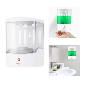 Image 5 - 600/700/1000ml Wall Mount Automatic IR Sensor Soap Dispenser Touch free Lotion Pump Touchless Liquid Home for Kitchen Bathroom