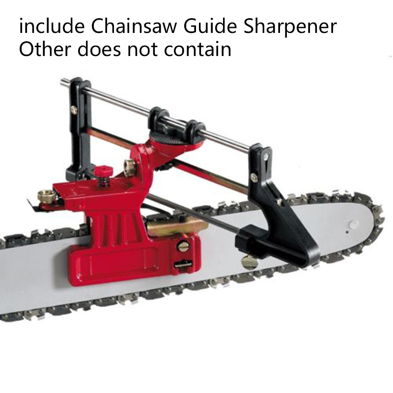 Sharpening File Manual Precision Saw Chain Filling Chainsaw Guide Bar For Garden Chain Saw Sharpener Garden Tools 215*75mm