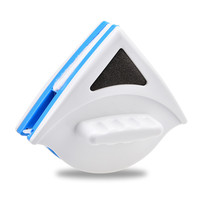 Household Cleaning Window Cleaner Glass Magnetic Window Cleaner Double sided Dust Brush Cleaning Tool Brush For Washing Windows