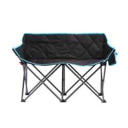 OEM 500 шт. на заказ двойной складной пляжный стул двойное кресло складной спинка кресла любовь сиденье